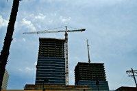 konstrukcja stalowego budynku - w trakcie
